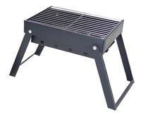 Yellowstone Barbecue au charbon de bois pliant noir Lg 16,5 cm