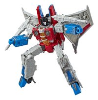 Transformers Siege robot War for Cybertron - Voyager Class - Starscream-Côté droit