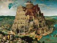 Ravensburger puzzel De toren van Babel-Vooraanzicht