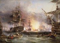Ravensburger puzzel Bombardement van Algiers-Vooraanzicht