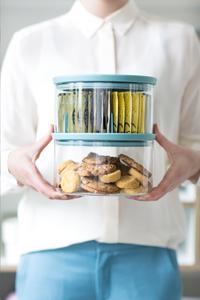 Brabantia Boîte à thé en verre-Image 1