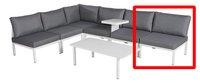 Fauteuil de jardin Selecta modulaire blanc/anthracite-Détail de l'article
