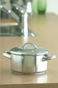 Demeyere kookpot Athena 22 cm - 4 l-Vooraanzicht