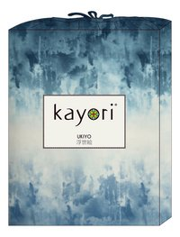 Kayori Housse de couette Aozora satin de coton 260 x 220 cm-Avant