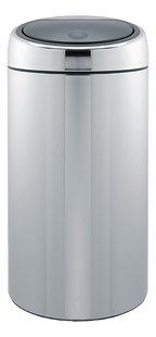 Brabantia Poubelle Touch Bin gris argenté 45 l FPP