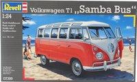 Revell Volkswagen T1 Samba Bus-Bovenaanzicht
