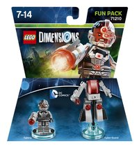 LEGO Dimensions figurine Fun Pack DC Comics 71210 Cyborg