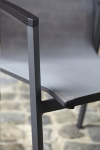 Chaise de jardin Bondi gris/anthracite-Détail de l'article