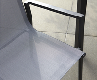 Tuinstoel Forios grijs/antraciet-Artikeldetail