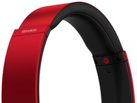 Sony bluetooth hoofdtelefoon MDR-XB650BT rood-Bovenaanzicht
