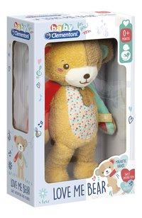 baby Clementoni peluche musicale Love Me Bear 32 cm-Côté gauche
