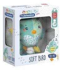 baby Clementoni muzikale knuffel Soft Bird 22 cm-Linkerzijde