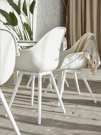 Chaise de jardin Geneva blanc-Image 7