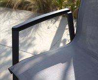Tuinstoel Bondi grijs/antraciet-Afbeelding 1