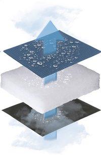 Lafuma Repose-pieds Next Air Comfort acier-Image 1