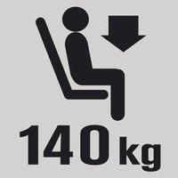 Lafuma Repose-pieds Next Air Comfort acier-Image 2