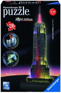 Ravensburger 3D-puzzel Night Edition Empire State Building