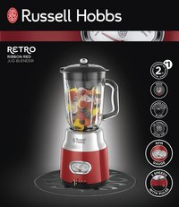 Russell Hobbs Blender Retro Red 25190-56-Avant
