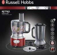Russell Hobbs Compacte foodprocessor Retro Red 25180-56-Vooraanzicht