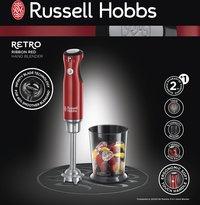 Russell Hobbs Mixeur plongeur Retro Red 25230-56-Avant