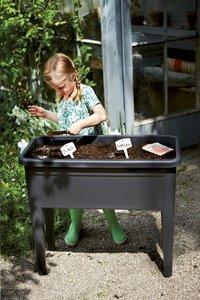 Elho Table de culture Green Basics XXL noir-Image 1