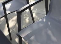 Tuinstoel Bondi grijs/antraciet-Afbeelding 3