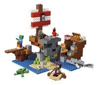 LEGO Minecraft 21152 L'aventure du bateau pirate-Avant