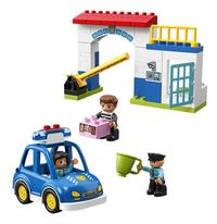LEGO DUPLO 10902 Politiebureau-Vooraanzicht
