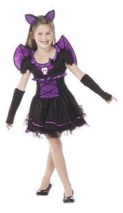 Verkleedpak vleermuis violet maat 146