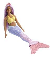 Barbie mannequinpop Dreamtopia Zeemeermin met regenboogstaart-Linkerzijde