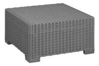Allibert Ensemble Lounge avec canapé 3 places California gris graphite cool grey-Détail de l'article
