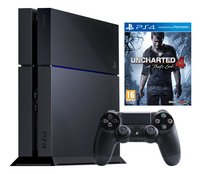 PS4 console 500 GB + Uncharted 4 A Thiefs End ENG/FR gratuit