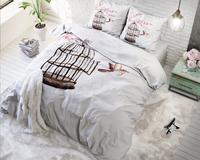 Sleeptime Essentials Dekbedovertrek Live Free microvezel 140 x 220 cm-Afbeelding 2