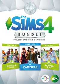PC De Sims 4  Bundle Game Pack Vampires ENG