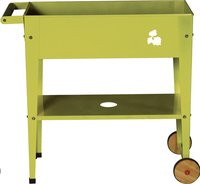 Table de rempotage Trolley 75 x 35 cm lime