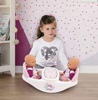 Smoby chaise haute jumeaux 2 en 1 Baby Nurse blanc-Image 1