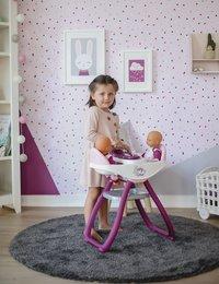 Smoby chaise haute jumeaux 2 en 1 Baby Nurse blanc-Image 2
