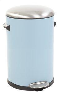Eko Poubelle à pédale Belle Deluxe bleu clair/inox 12 l