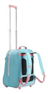 Kipling sac à dos à roulettes Clas Soobin L Bright Aqua C-Arrière