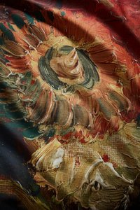 Beddinghouse Dekbedovertrek Van Gogh Gladioli red katoensatijn-Artikeldetail