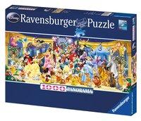 Ravensburger panoramapuzzel Disney groepsfoto