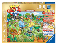 Ravensburger puzzel What if? 2 Open Garden Day