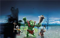 Playmobil Knights 6004 Reuzentrol met dwergsoldaten-Afbeelding 1