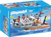Playmobil City Action 5540 Brand-reddingsboot