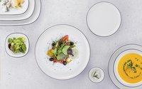 Thun 6 platte borden Ligne Grey Tom Ø 26 cm-Afbeelding 2