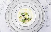 Thun 6 platte borden Ligne Grey Tom Ø 26 cm-Afbeelding 3