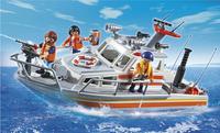 Playmobil City Action 5540 Brand-reddingsboot-Afbeelding 1