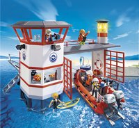 Playmobil City Action 5539 Poste de secours des sauveteurs en mer-Image 1