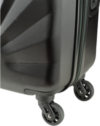Princess Traveller harde reistrolley Nice met Powerbank zwart 55 cm-Onderkant