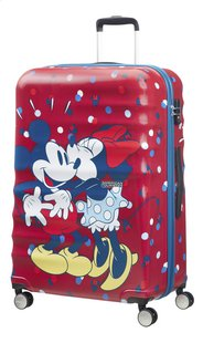 American Tourister Harde reistrolley Wavebreaker Spinner Minnie loves Mickey